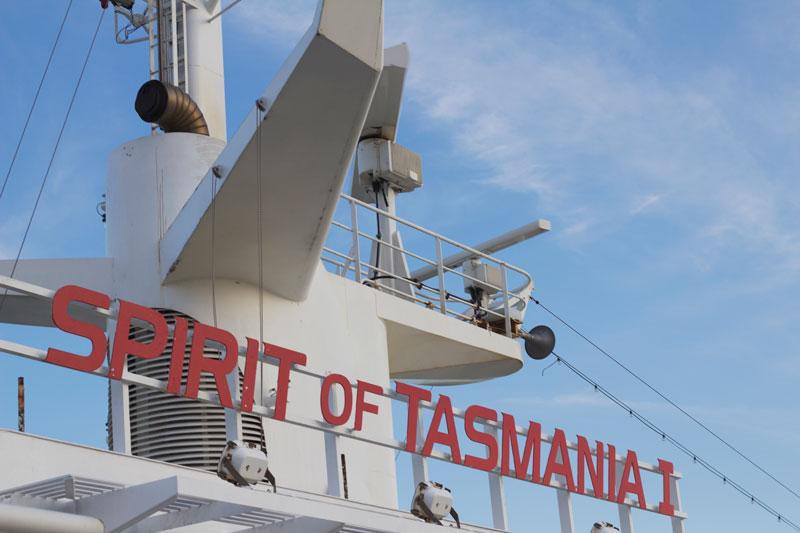 Spirit of Tasmania, Melbourne to Tasmania / photo by Natalie Barnes