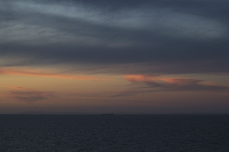 Port Phillip Bay, Spirit of Tasmania, Melbourne to Tasmania / photo by Natalie Barnes
