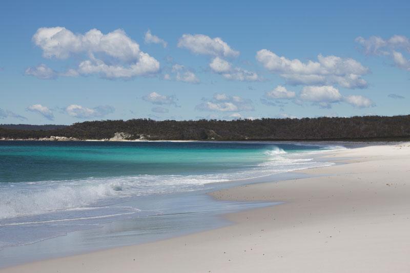 Taylors Beach, Bay of Fires, Tasmania / photo by Natalie Barnes